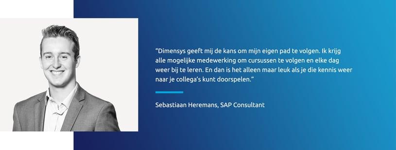 Vacature SAP Applications Consultant