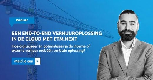 Webinar Een end-to-end verhuuroplossing in de cloud met ETM.next