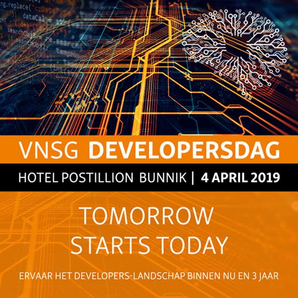 Developers 2019 Vierkant
