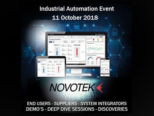 Novotek Industrial Automation event 2018
