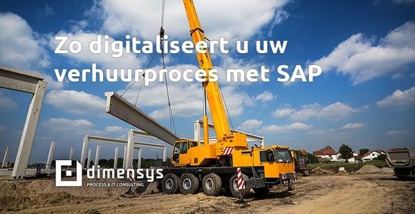 Blog: Zo digitaliseert u uw verhuurproces met SAP