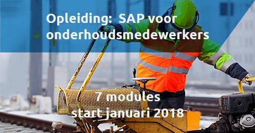 Opleiding SAP Maintenance Service Management