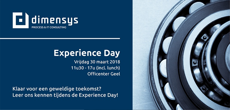 Dimensys Experience Day 2018