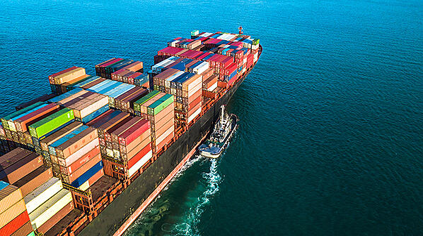 Digital Supply Chain RFID IOT Cargo Shipping