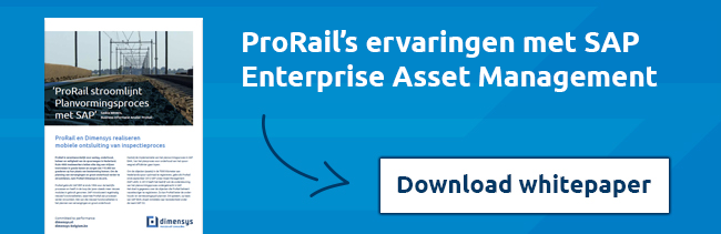 Download whitepaper: ProRail's ervaringen met SAP Enterprise Asset Management